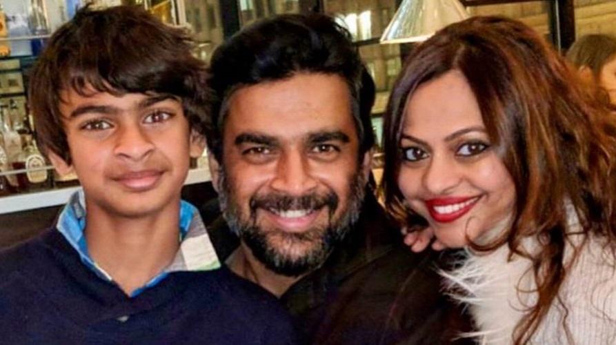 Vedaant, Madhavan and Sarita