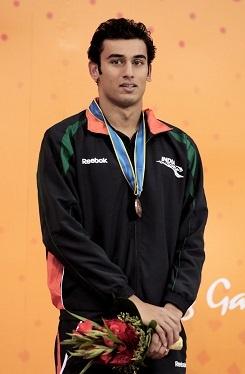 Virdhawal Khade Indian Swimmer