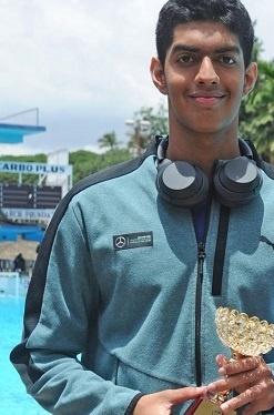 Srihari Nataraj Indian Swimmer