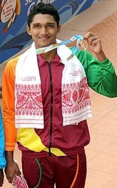 sajan prakash Indian Swimmer