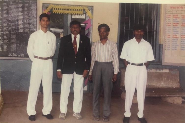 Gandham Chandrudu was 18, when he was taken into Indian Railways as a ticket collector