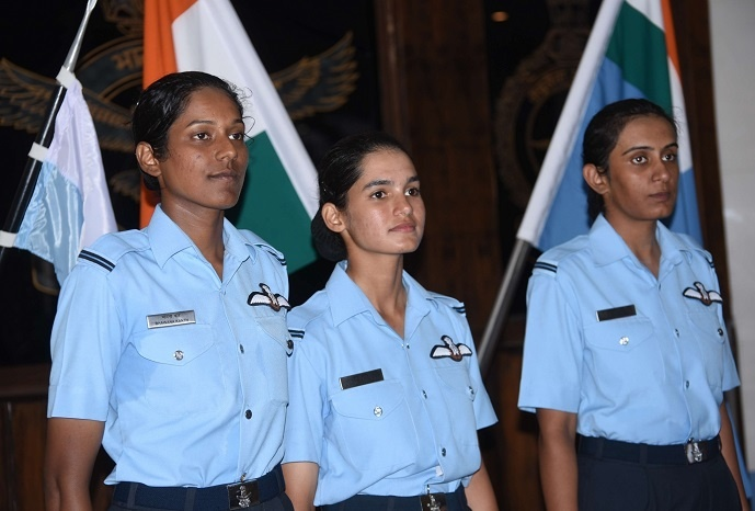 IAF recruited two other cohorts Mohana Singh Jitarwal, and Bhawana Kanth