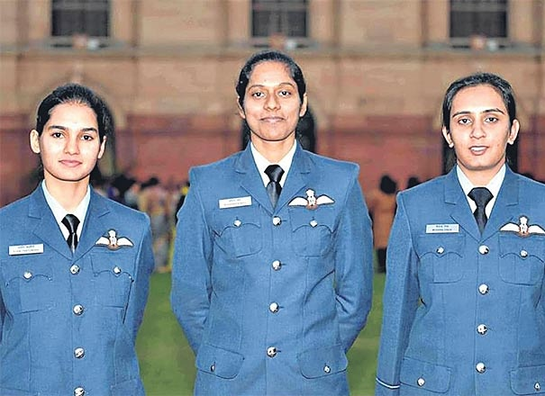 In 2016, three officers – Bhawana Kanth, Avani Chaturvedi, and Mohana Singh – created history by becoming IAF's first women fighter pilots