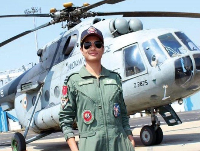 First Woman Flight Engineer Of IAF Hina Jaiswal