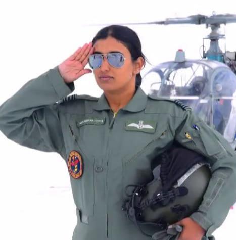 Squadron Leader Khushboo Gupta