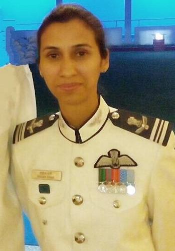 Shaliza Dhami First Woman Flight Commander
