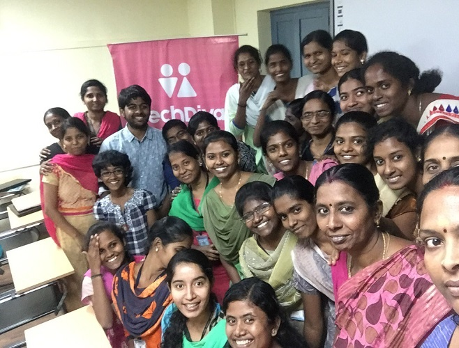 HashHackCode programming course for their children, to single-mothers and Tech professionals, who were willing to collaborate and share their views to lay the roadmap