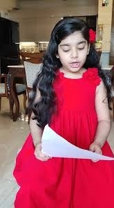 The first story of Abhijita at 5 years of age astonished her parents, grandparents and her teachers