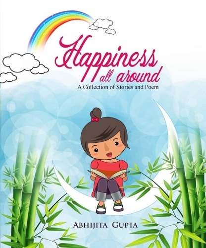 """Abhijita wrote a book titled Happiness All Around"""" during the COVID-19 lockdown"""