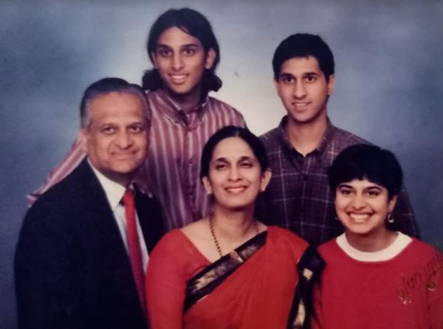 Mala Adiga Family