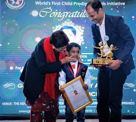 Virat Vijay Lyer won The Global Child Prodigy