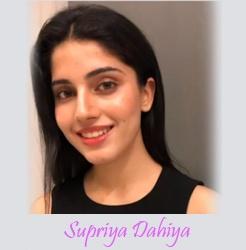 Finalists of Femina Miss India 2020 New Delhi - Supriya Dahiya