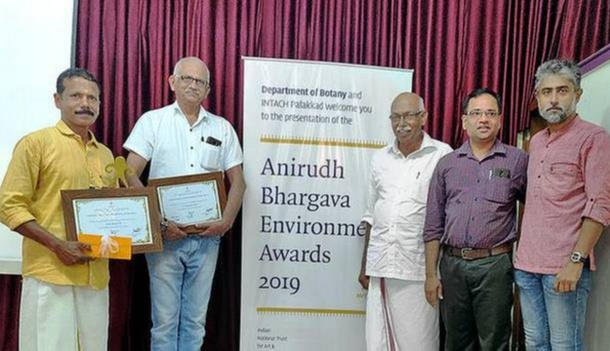 His efforts were recognized by the forest department as well as by private organizations