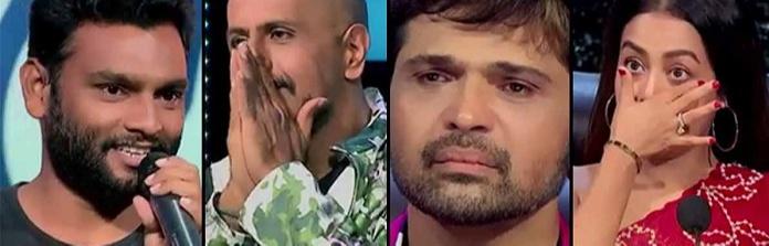 Indian Idol Season 12 and his eloquent singing performance left the judges Neha Kakkar and Himesh Reshammiya emotional