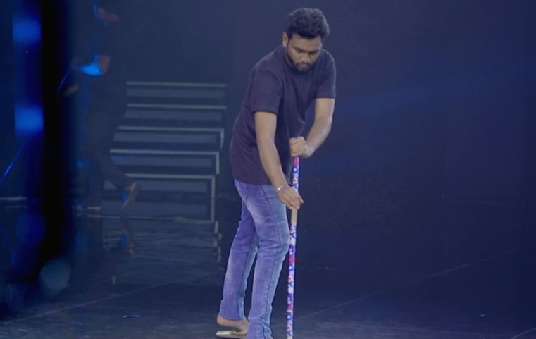 Yuvraj recollected the days when he swept and cleaned the floors on the sets of Indian Idol