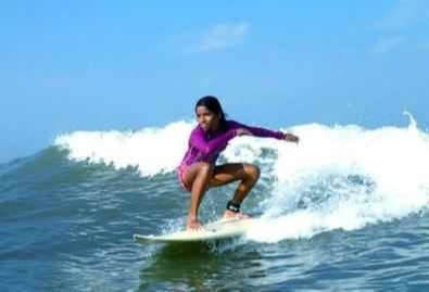 sinchana gowda India's boldest female surfers