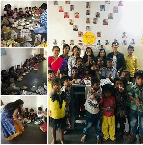 Saikiran, along with three of his friends initiated a social welfare organization Let's Spread Love and were involved in various activities  (2)