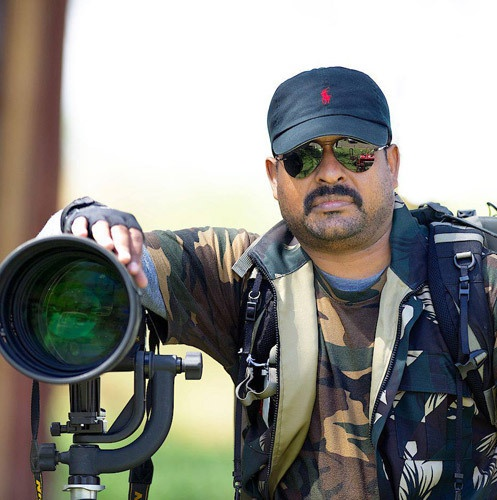 Award winning wildlife photographer, Thomas Vijayan