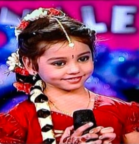 Priya was seen as a little and the youngest participant in the Zee Telugu Sa Re Ga Ma Pa Little Champs