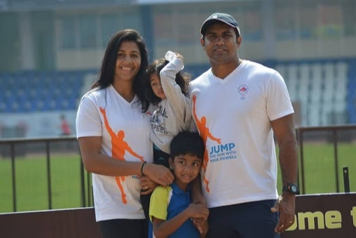 He also said that he would give his kidney to her in the worst case. Such was the support she received from her coach husband
