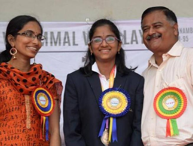 Rakshitta Ravi daughter of promising chess players WIM Sai Meera Ravi and IM T S Ravi
