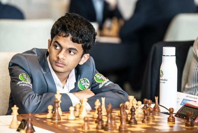 Nihal Sarin brought Gold in FIDE Online World Cadets and Youth Rapid Chess Championships