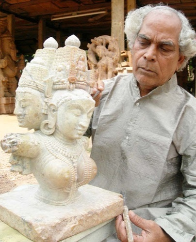 Sudarshan Sahoo was awarded the Padma Vibhushan in 2021 for his outstanding contribution in the field of Art