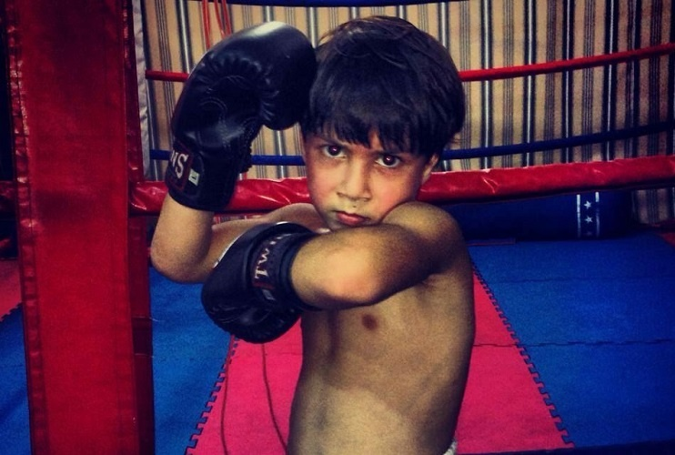 Ramadan Ondash This 11-year-old prodigy from Lebanon is nicknamed as -Muaythai Kid and fights in a higher category in his country
