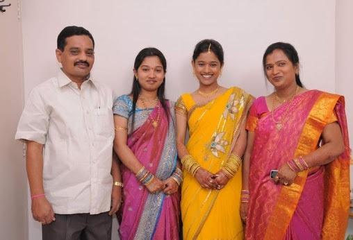 Jyothi Reddy Family
