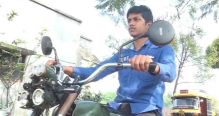 Why did Prathamesha even think of building a bike