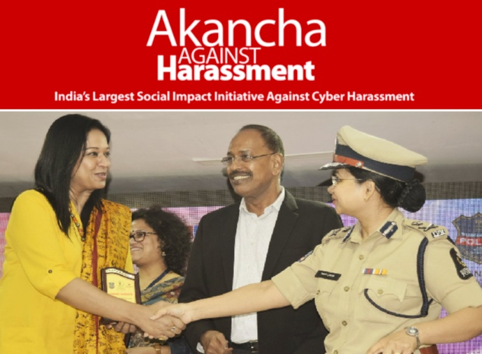 In order to voice cyber-harassment and to address cybercrimes, Akancha Srivastava Foundation started an initiative called Akancha Against Harassment