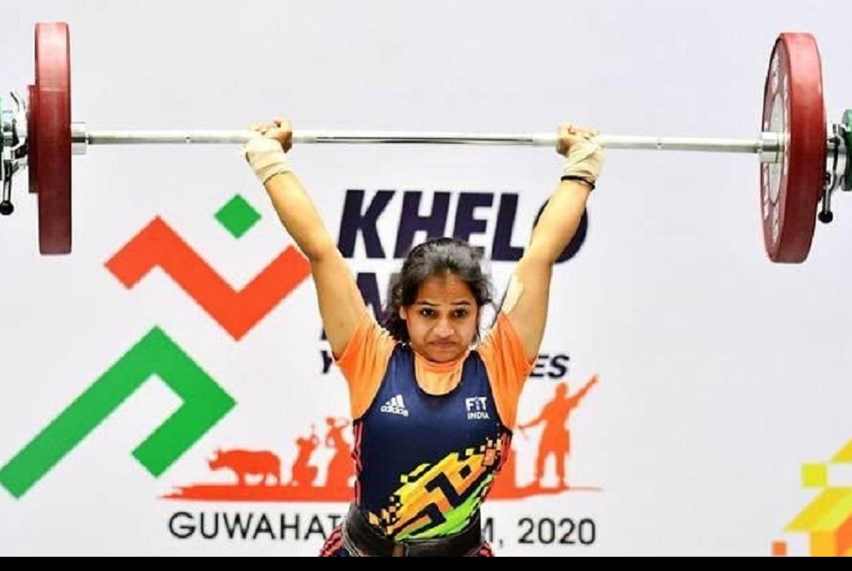 KVL Pavani Kumari a Village weightlifter is India's pride. She bags silver medals at Asia Championships