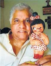 I started working with the formulator of the famous Amul Girl, Eustace Fernandes