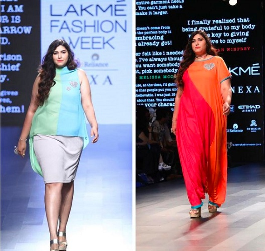 Neha rocked the ramp and stood as the winner! Neha, who works as an HR at an MNC says that her job feeds her pockets while modelling feeds her soul