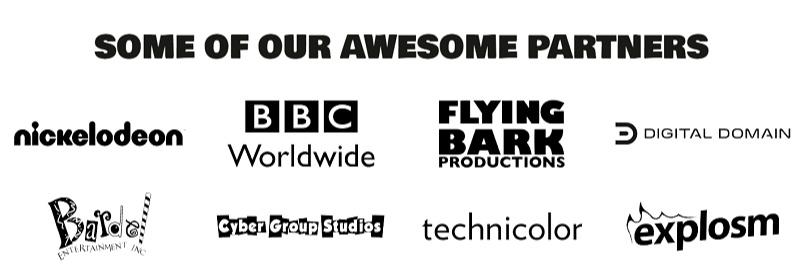 Digitoonz is now serving Global Leaders like BBC, Nickelodeon, and Digital Domain