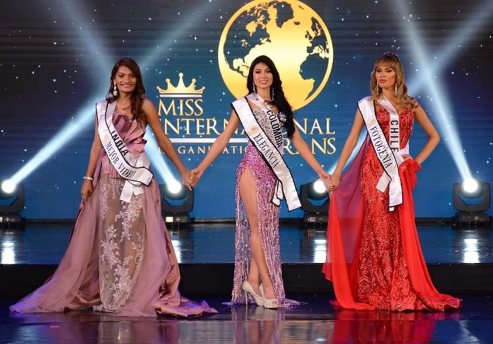 Archie Singh second runner-up at the Miss International Trans beauty pageant
