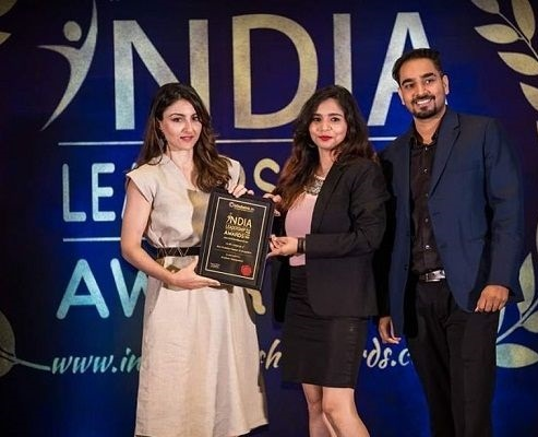 Global Excellence Award for the Best Event Management Company 2018 - Bangalore