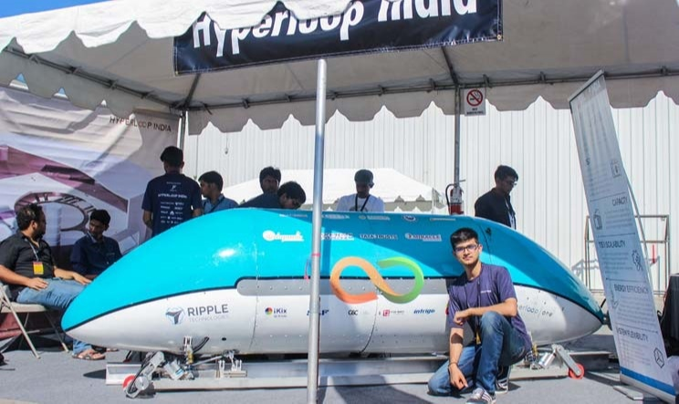They became a part of the team called - Hyperloop India for which Awais was one of the founding members