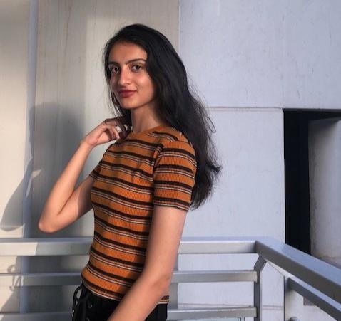 Avantika Khanna who was the School Ambassador and Spokesperson at the Shri Ram School, Aravalli Campus, Gurugram