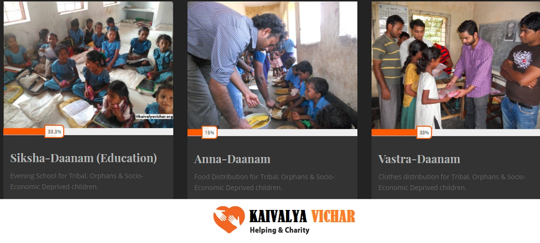 With an intention to provide education, food, and health facilities to the socio-economically deprived children Vishal decided to initiate a non-government organisation