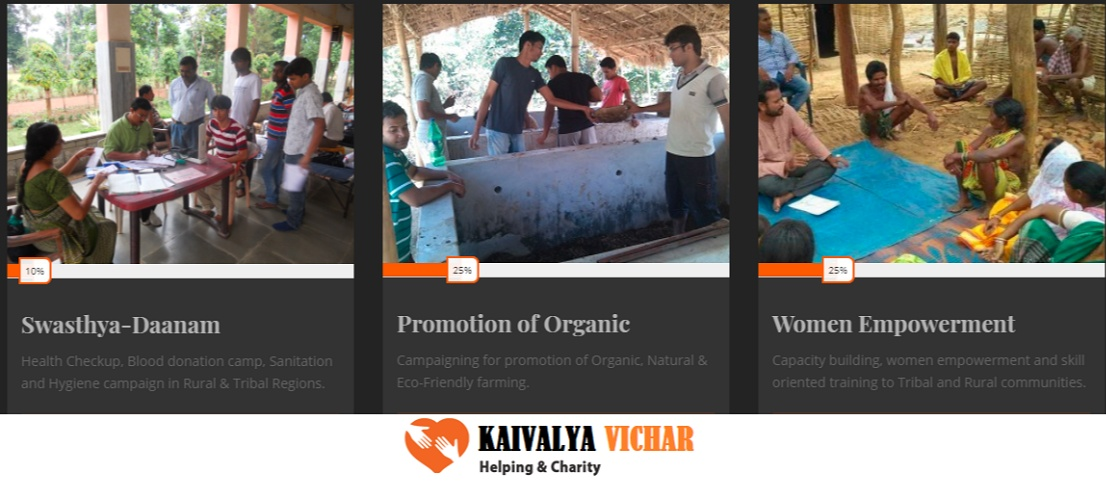 An intention to provide education, food, and health facilities to the socio-economically deprived children Vishal decided to initiate a non-government organisation