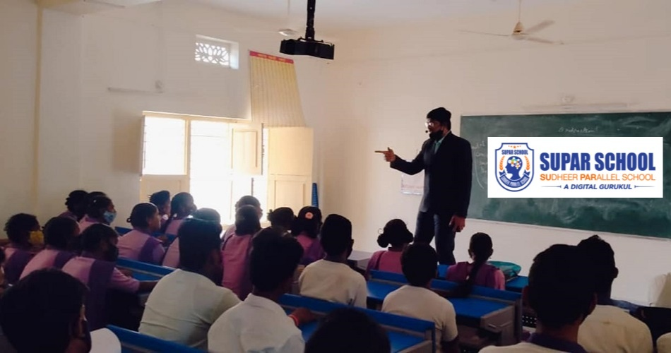 SUPAR SCHOOL covers a set of 12 essential skills that revolve around LSRW skills