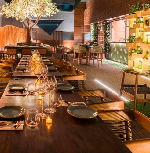 Candy and Green is a restaurant that focusses on the central idea of serving clean vegetarian food with exceptional hospitality
