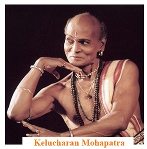 This sacred dance was brought to the public by Gotipuas (boys dressed in female attire) Gurus like Kelucharan Mohapatra