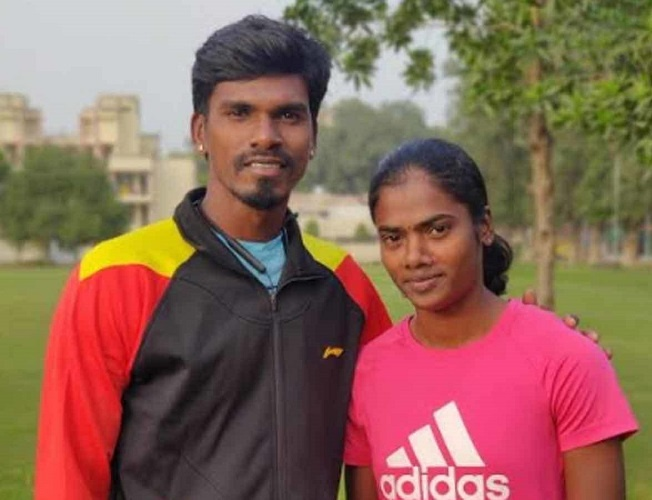 The weight and hill training and the sand workouts that we focused on last year are proving to be useful now says Manikanda Arumugam, Dhanalakshmis coach