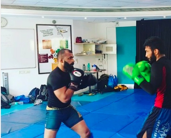 As Chaitanya started his serious training in MMA, he started falling in love with the sport and discovered that 'this is all that he wanted to do