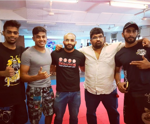 Chaitanya thus started his Mixed Martial Arts career with the Evolution Combat Fighting Academy in Mumbai