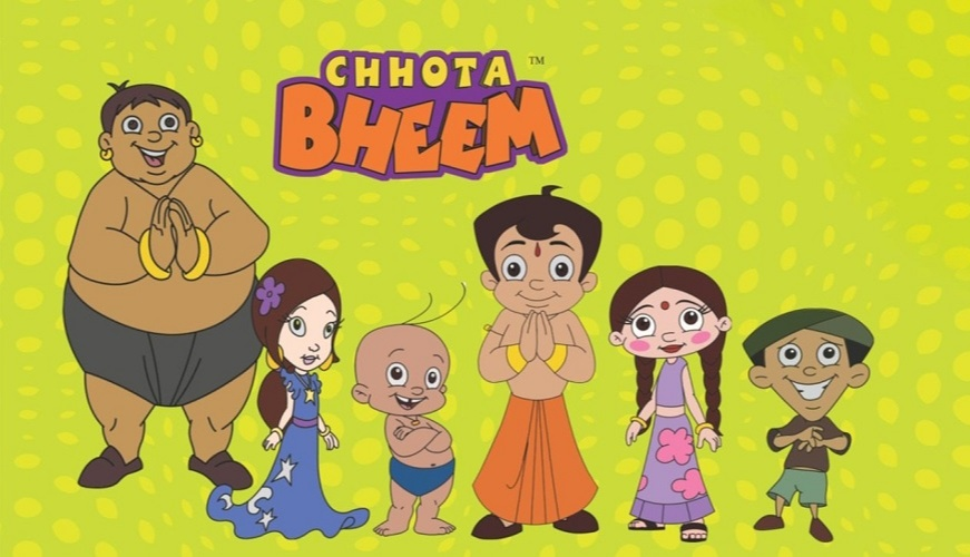 She wrote the Chhota Bheem story and at once the company not only liked it but decided to create a cartoon series out of it
