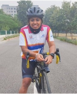 India's only female para cyclist, Tanya from MP, said that sports changed her life and made it even better