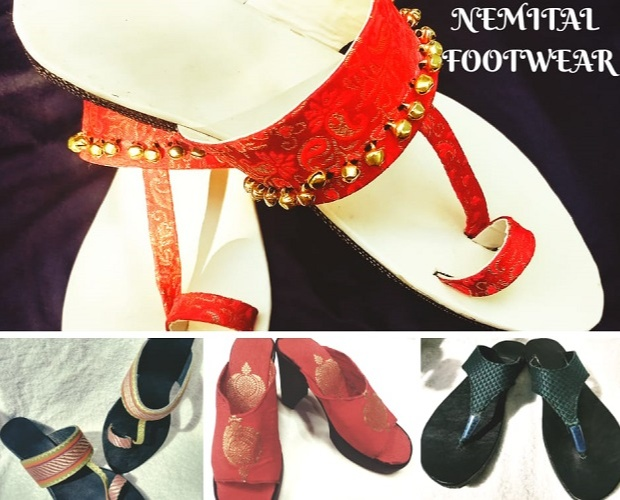 Nemital launched a wide variety of footwear like kolhapuris, Mojris, sandals and heels